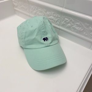 Ivory Ella Blue/Green Turquoise Hat